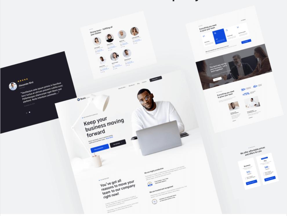 Business Website Design Richmond