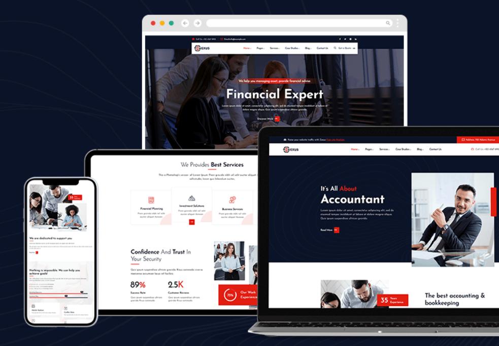 Financial Website Design Vancouver
