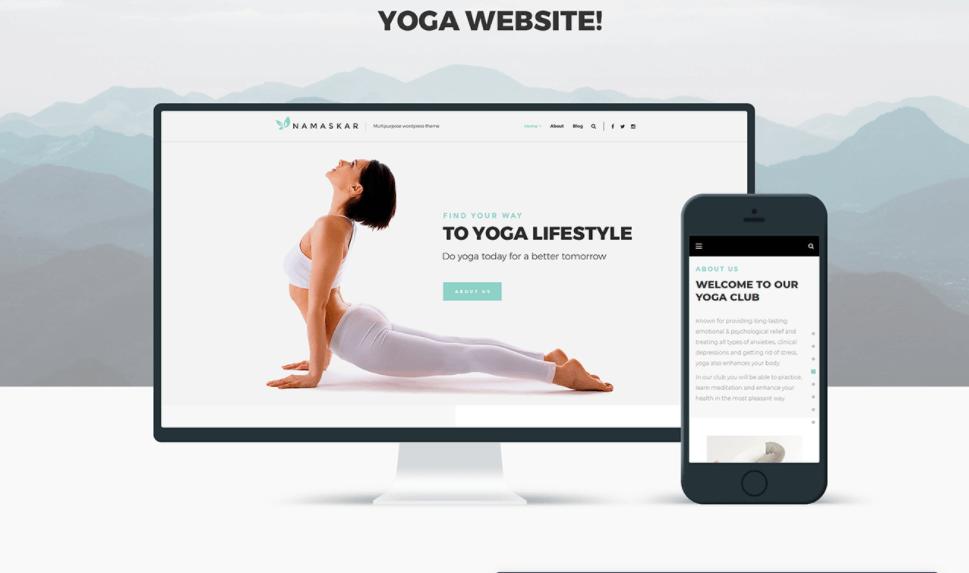 Yoga Website Design Richmond