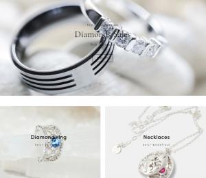 jewelry Website Design Vancouver